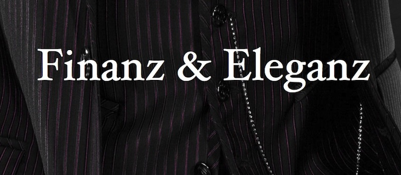 Kolumnentitel: Finanz & Eleganz