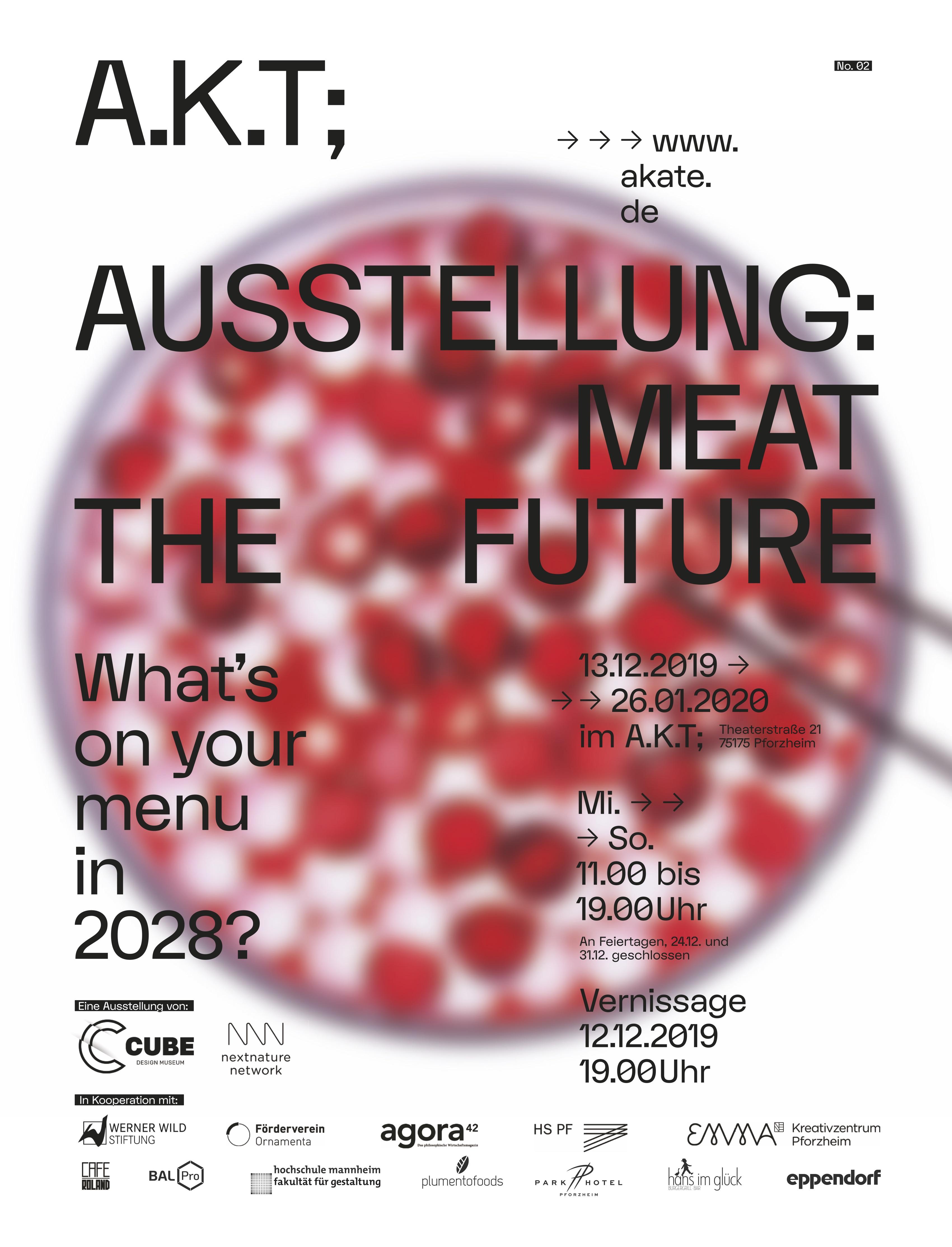 Meat The Future Ausstellungsinfos