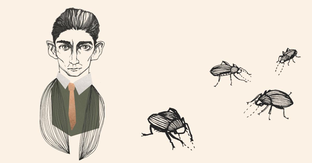Porträt von Franz Kafka