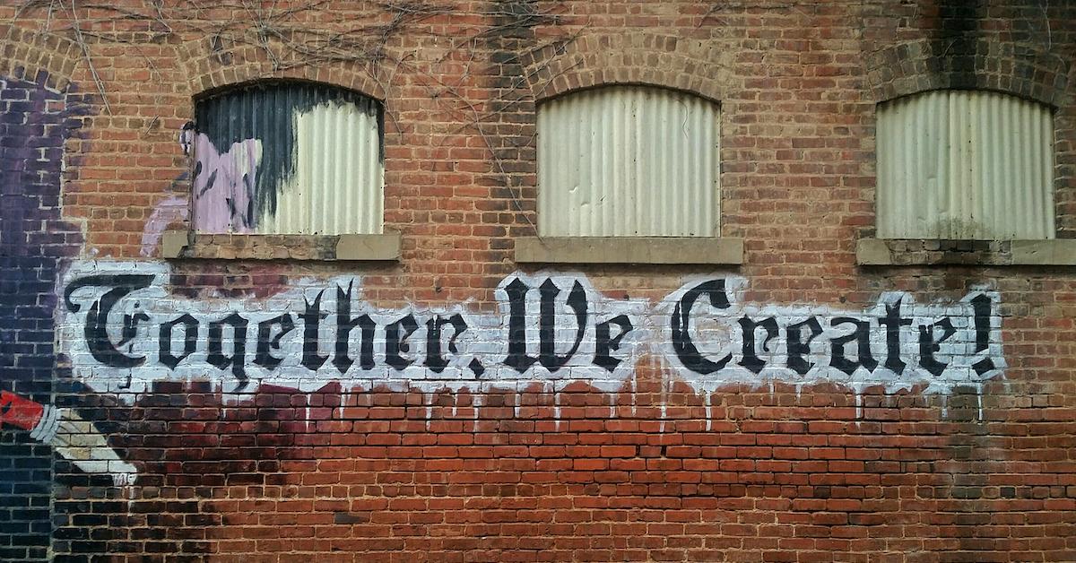 Zusammen schaffen wir das Neue