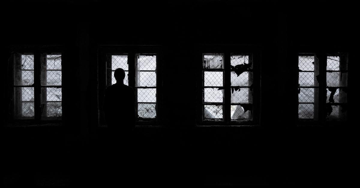 Ein dunkler Raum