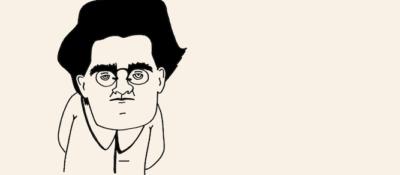 Portrait von Antonio Gramsci