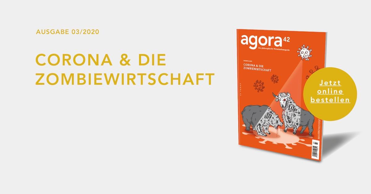 Banner: CORONA 6 DIE ZOMBIEWIRTSCHAFT