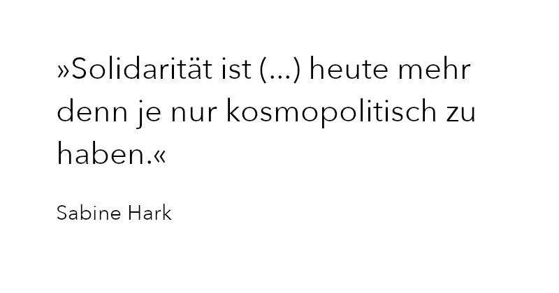 Zitat Sabine Hark in Ausgabe 4/2020