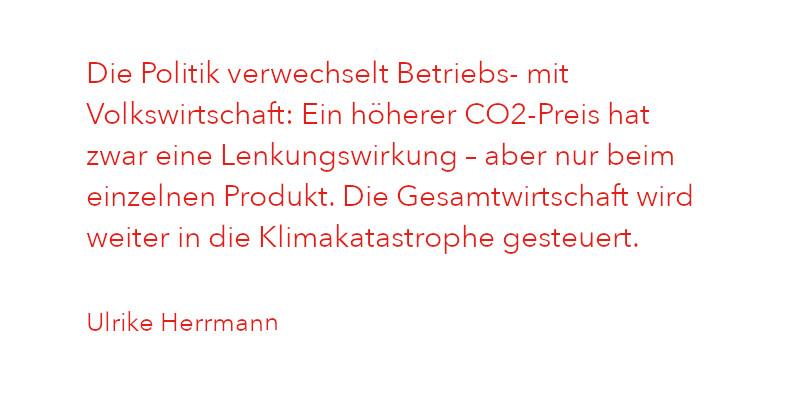 Zitat von Ulrike Herrmann aus Ausgabe 1/2021