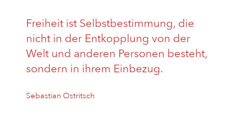 Zitat von Sebastian Ostritsch aus Ausgabe 1/2021