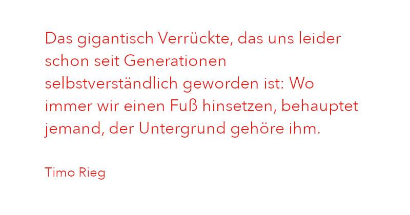 Zitat von Timo Rieg aus Ausgabe 1/2021