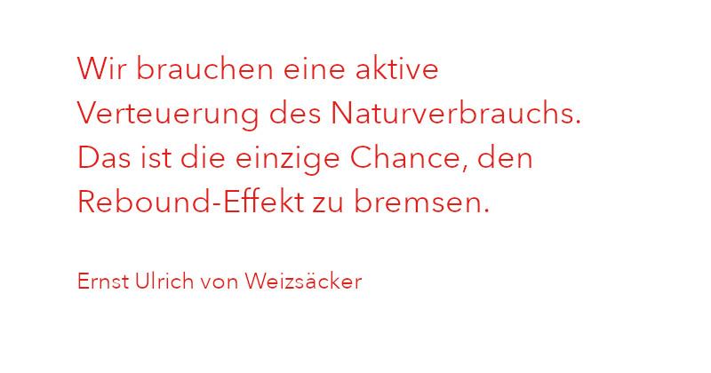 Zitat von Ernst Ulrich von Weizsäcker aus Ausgabe 1/2021