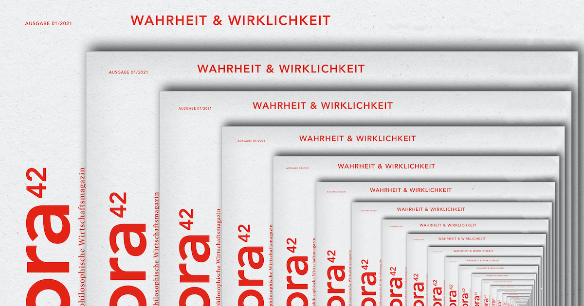 Ausschnitt des Covers der Ausgabe 1/2021 WAHRHEIT & WIRKLICHKEIT