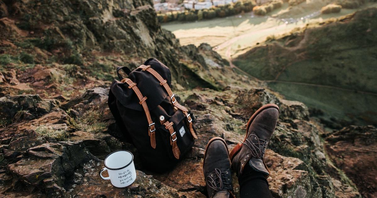 Einfach Leben: Mit dem Rucksack in den Bergen?