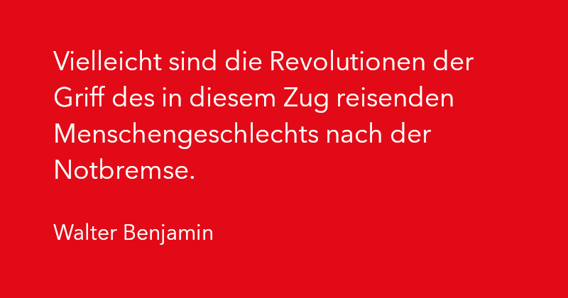 Walter Benjamin in Ausgabe 2/2021