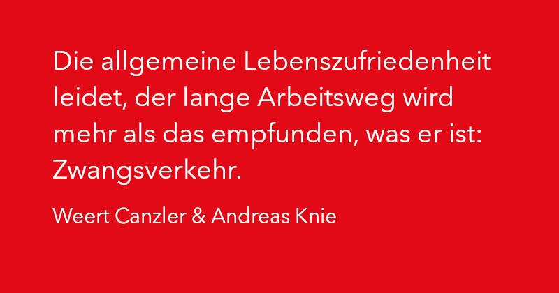 Weert Canzler & Andreas Knie in Ausgabe 2/2021