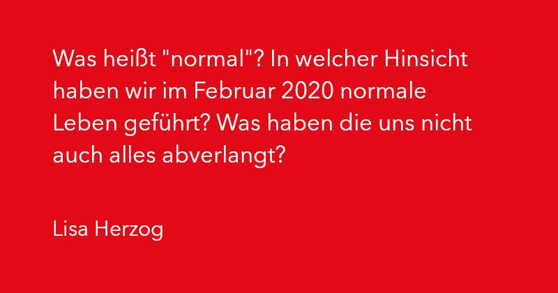 Lisa Herzog in Ausgabe 2/2021