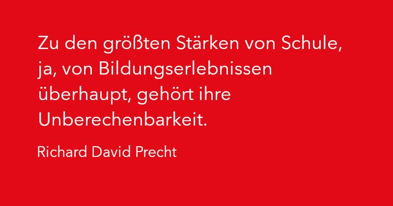 Richard David Precht in Ausgabe 2/2021