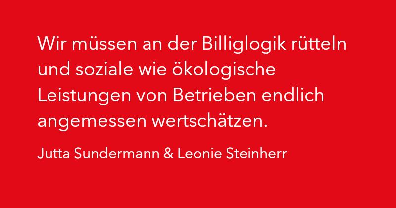 Jutta Sundermann & Leonie Steinherr in Ausgabe 2/2021