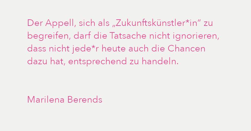 Marilena Berends in Ausgabe 3/2021