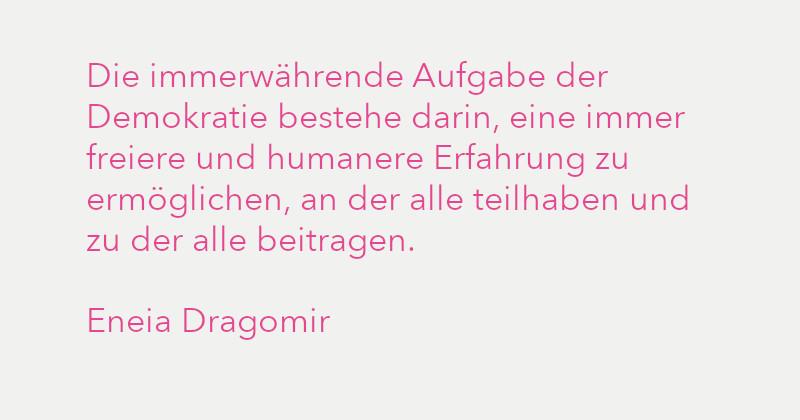 Eneia Dragomir in Ausgabe 3/2021