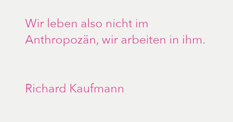 Richard Kaufmann in Ausgabe 3/2021