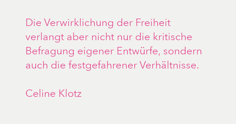 Celine Klotz in Ausgabe 3/2021