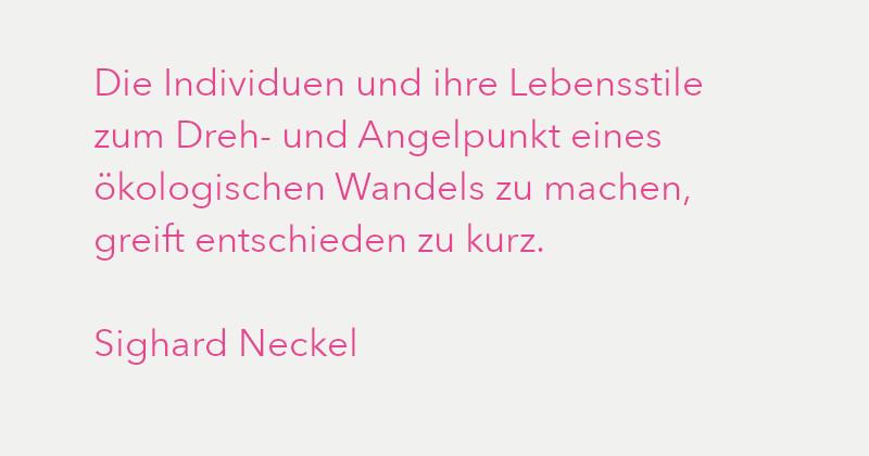 Sighard Neckel in Ausgabe 3/2021