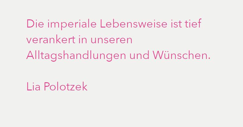 Lia Polotzek in Ausgabe 3/2021