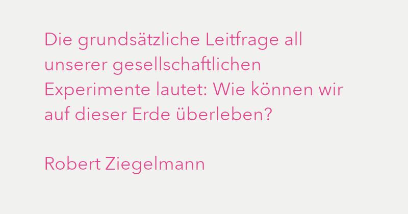 Robert Ziegelmann in Ausgabe 3/2021