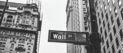 Straßenschild: Wall Street